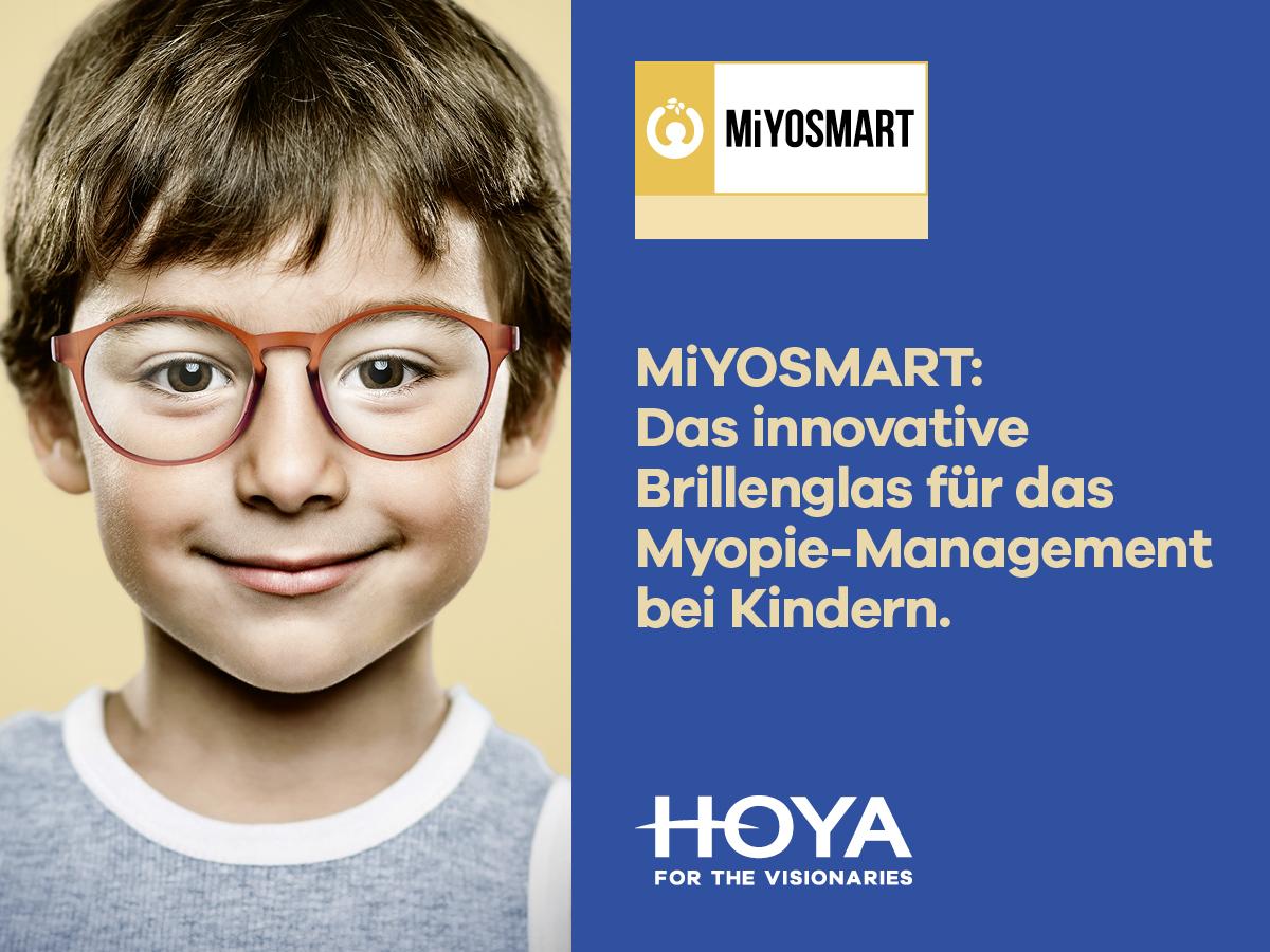 Kurzsichtigkeit bei Kindern bremsen mit der innovativen DIMS- Technologie von Miyosmart