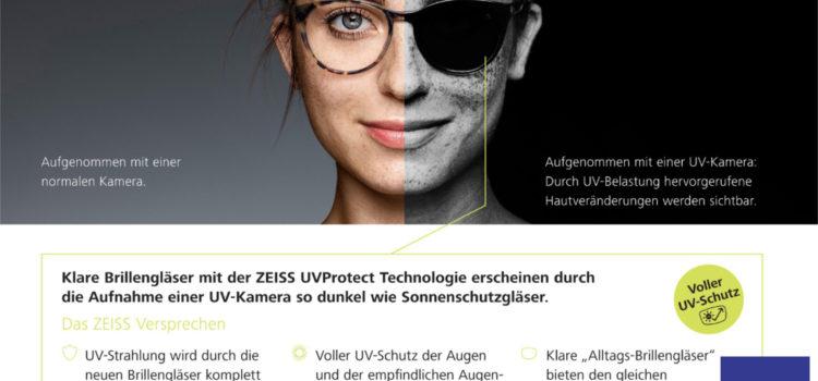 UV-Schutz der Augen durch Brillengläser