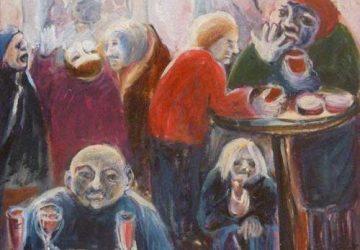 Vernissage zur Ausstellung mit Werken von Katharina Danz