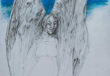 Vernissage zur Ausstellung mit Werken von Volker R. Hedwig