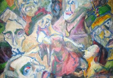Vernissage zur Ausstellung mit Werken von Edmond Garn