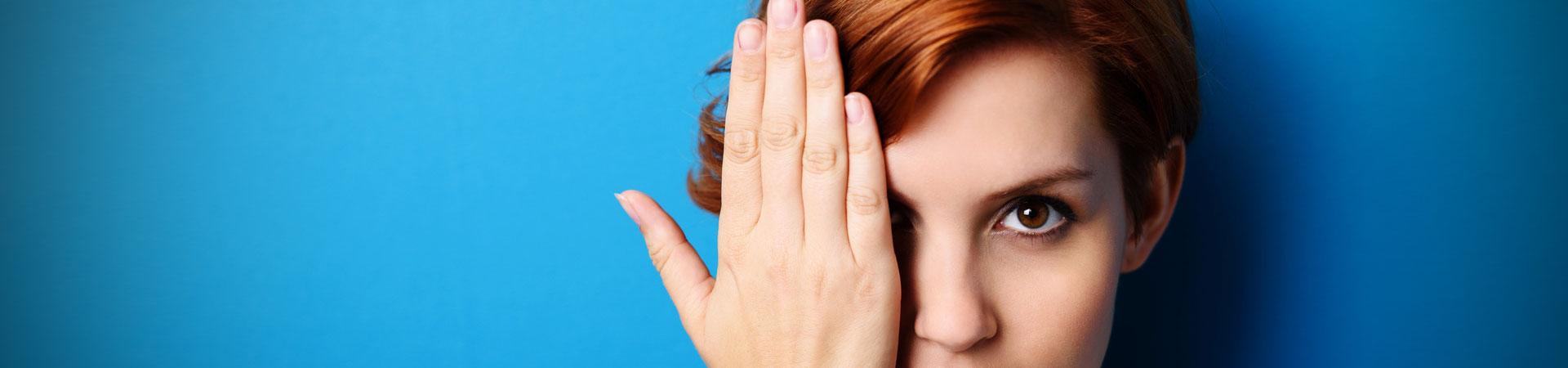 Kontaktlinsen für trockene Augen