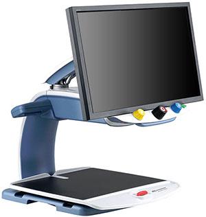 Im Rahmen der Low Vision Versorgung können Bildschirmlesegeräte selbständiges Lesen ermöglichen